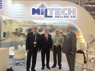 Στην έκθεση EUROSATORY 2016 με νέα προιόντα η ελληνική εταιρεία Miltech Hellas A.E