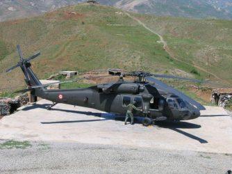 Πτώση τουρκικού ελικοπτέρου S-70 Blackhawk στην επαρχία Κερασούντας με 7 νεκρούς και 8 τραυματίες