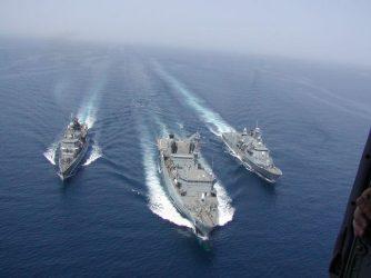 Ισχυρή ναυτική δύναμη 9 πολεμικών πλοίων αναπτύσσει στην Κρήτη το Πολεμικό Ναυτικό