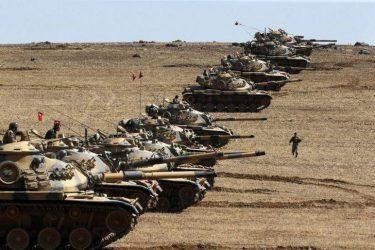 Στρατιωτική βάση στην Βόρεια Συρία κατασκευάζει η Τουρκία