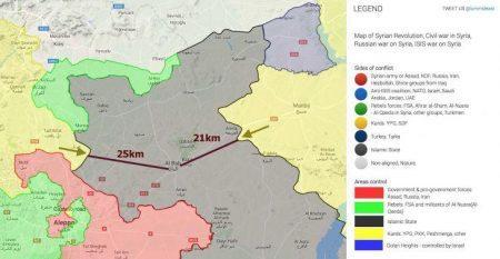 Ανασύνταξη των δυνάμεων του FSA στον ποταμό Sajur – Προς εκεχειρία οι δύο πλευρές με την υποστήριξη των ΗΠΑ