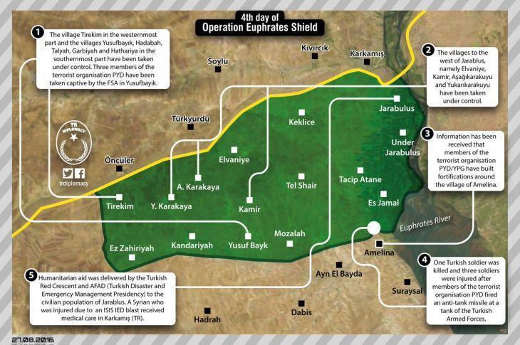 NORTH SYRIA FSA MAP