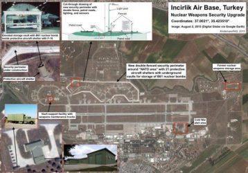 """Αμερικανικό κέντρο ερευνών : """"Ανησυχούμε για την ασφάλεια των πυρηνικών όπλων στην βάση του Incirlik"""""""