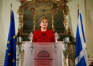 Νέα πρωτοβουλία για την ανεξαρτησία της Σκωτίας ανακοίνωσε η πρωθυπουργός της χώρας Νίκολα Στέρτζον