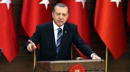 Ερντογάν: Δεν μπορούμε να αγνοήσουμε τους ομοεθνείς μας σε Δυτική Θράκη και Κύπρο
