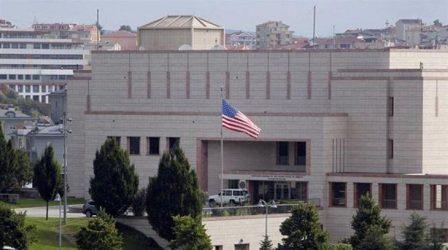 Οι ΗΠΑ απομακρύνουν τις οικογένειες του προσωπικού στο προξενείο της Κωνσταντινούπολης