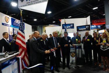Εγκαίνια του Ελληνικού Περιπτέρου στη Διεθνή Eκθεση Αμυντικών Συστημάτων AUSA 2016