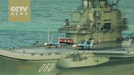 Ξεκίνησαν οι πτήσεις των Ρωσικών μαχητικών του Admiral Flota Kuznetsov (063) πάνω απο την Συρία (Video)