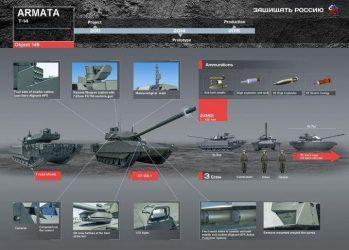 Με αερόχημα συλλογής πληροφοριών θα εξοπλιστεί το T-14 Armata (Video)