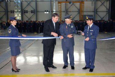 Εγκαίνια του νέου υποστέγου αεροσκαφών και ελικοπτέρων στο ΚΕΑ