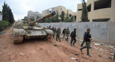Προελαύνει ο συριακός στρατός στο ανατολικό Χαλέπι