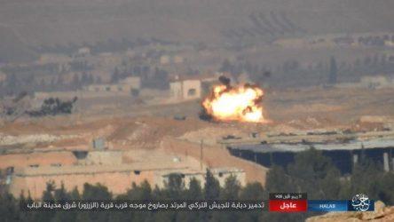 Πρώτη επίθεση με αντιαρματικό πύραυλο κατά τουρκικού Leopard 2A4TR στην Al-Bab