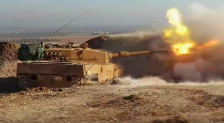 43 άρματα μάχης τύπου Leopard 2A4TR έχει στείλει στο Al Bab η Τουρκία (Video)