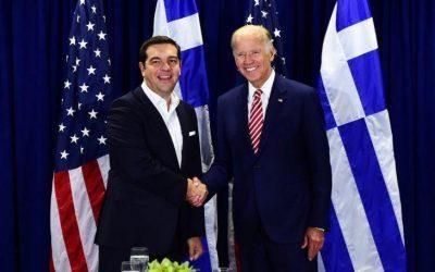 Τηλεφωνική επικοινωνία Μπάιντεν – Τσίπρα για το Κυπριακό