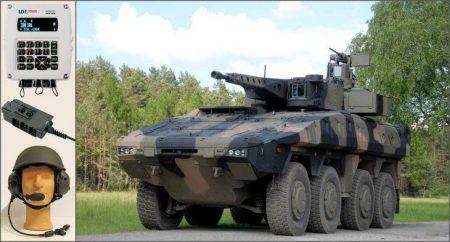 Το σύστημα WiSPR της ελληνικής εταιρείας INTRACOM Defense Electronics εξοπλίζει τα γερμανικής κατασκευής ΤΟΜΑ BOXER