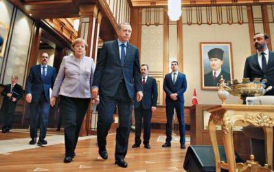 Εξάψαλμος Μέρκελ σε Ερντογάν – Το διαφορετικό πρόσωπο της γερμανίδας καγκελάριου
