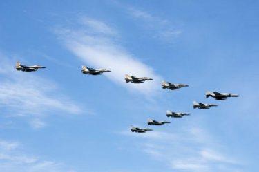 Οι πρώτες φωτογραφίες από την πολυεθνική άσκηση της Πολεμικής Αεροπορίας «Ηνίοχος 2017»