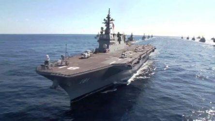 Η Ιαπωνία βγάζει το «καλύτερο χαρτί» της στην Νότια Σινική Θάλασσα