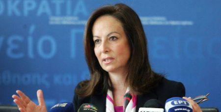 Ά. Διαμαντοπούλου: Φοβάμαι ότι μπορεί να πάμε στη δραχμή