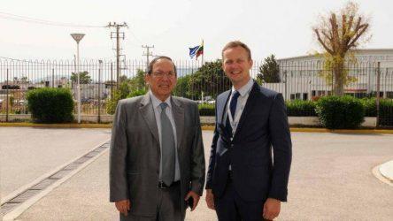 Επίσκεψη του Πρέσβη της Λιθουανίας στην IDE