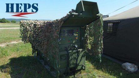 Υβριδική Γεννήτρια της IDE σε Διεθνή Στρατιωτική Άσκηση στην Εσθονία