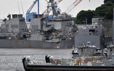 Νεκροί βρέθηκαν οι αγνοούμενοι ναύτες του USS Fitzgerald