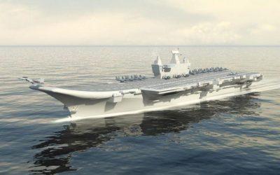 Πυρηνοκίνητο θα είναι το τρίτο αεροπλανοφόρο του Ινδικού Ναυτικού