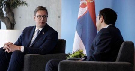 Αλ.Βούτσιτς: Ικανοποιημένος από την ελληνική στήριξη στην ευρωπαϊκή πορεία της Σερβίας