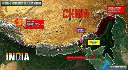 Αψιμαχίες Κινέζων και Ινδών στρατιωτών στο Κασμίρ (Video)