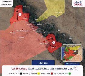 Διευρύνθηκε το προγεφύρωμα του Συριακού Στρατού στην βόρεια όχθη του Ευφράτη