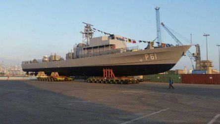 Έτοιμο προς καθέλκυση το περιπολικό σκάφος ανοικτής θαλάσσης P61 της Κυπριακής Δημοκρατίας