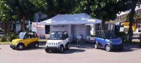 Ecocar: Το ηλεκτρικό διθέσιο ΙΧ από Έλληνες και Κινέζους επιχειρηματίες