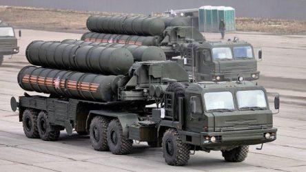 Το 2020 η πρώτη πυροβολαρχία S-400 Triumf στην Τουρκία