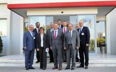Υφυπουργός Άμυνας των ΗΠΑ στις Εγκαταστάσεις της INTRACOM Defense Electronics