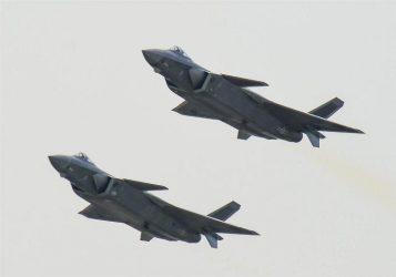 Κινεζικά μαχητικά 5ης γενιάς J-20 πέταξαν πάνω από την Νότιο Κορέα ?