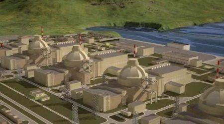 Τον Απρίλιο του 2018 η θεμελίωση του πυρηνικού σταθμού του Ακούγιου