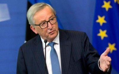 Γιούνκερ: Οι μεθοριακές διενέξεις στα Δ. Βαλκάνια να διευθετηθούν πριν την είσοδο χώρας στην Ε.Ε