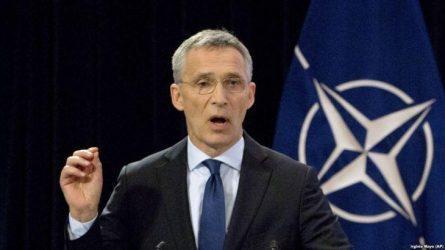 Ο ΓΓ του NATO Γενς Στόλτενμπεργκ χαιρετίζει μια «ιστορική ευκαιρία»