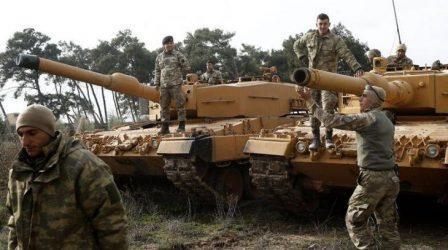 Παράταση για άλλον έναν χρόνο της εντολής ανάπτυξης των τουρκικών στρατευμάτων σε Συρία και Ιράκ