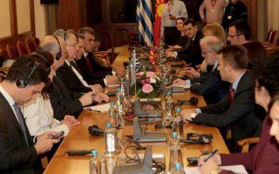 Ολοκληρώθηκε η επίσκεψη Κοτζιά στα Σκόπια