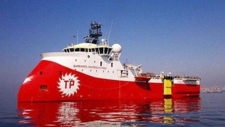 Το «Μπαρμπαρός» βγαίνει πάλι για έρευνες βορειανατολικά της Κύπρου