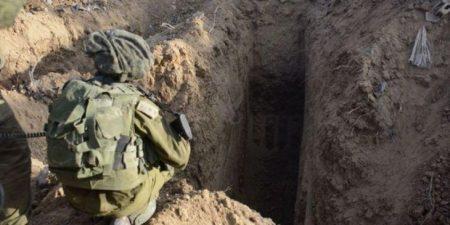 Σήραγγα που συνέδεε τη Λωρίδα της Γάζας με το Ισραήλ κατέστρεψε ο ισραηλινός στρατός