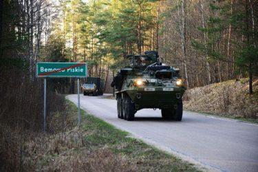 Νέες δυνάμεις του ΝΑΤΟ έφτασαν στην Πολωνία