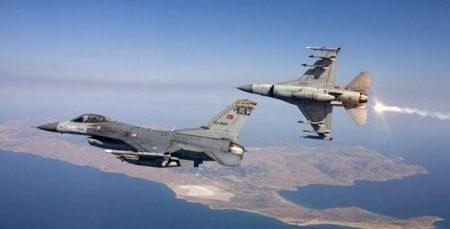 Προκαλούν Ανήμερα του Πάσχα οι Τούρκοι – Υπερπτήσεις F-16 πάνω από τη νήσο Παναγιά
