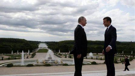 Μακρόν – Πούτιν τα είπαν για την Ρωσία