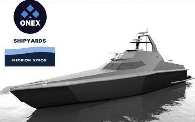 Σύρος: Τα ναυπηγεία στο Νεώριο ξεκίνησαν την πολιτική ανακοινώνοντας σκάφος Stealth για το  Αιγαίο