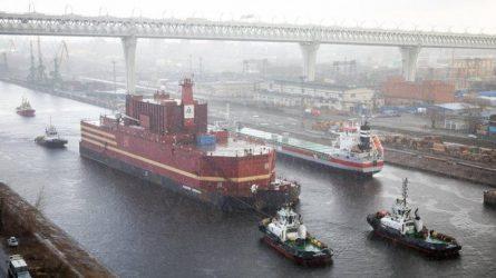 Έφτασε ο πλωτός πυρηνικός σταθμός των Ρώσων στην Αρκτική