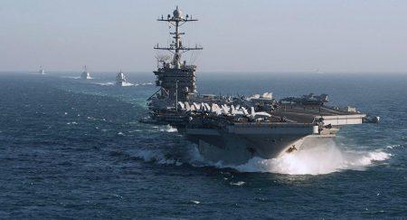 Επίδειξη ισχύος από το Αμερικανικό Ναυτικό με βάσεις την Μεσόγειο και Περσικό Κόλπο