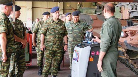 Επίσκεψη ΓΕΠΣ – Υπαρχηγού ΓΕΣ σε Σχηματισμούς στην Περιοχή Ευθύνη του Δ΄ Σώματος Στρατού