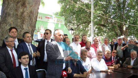 Δύο προσαγωγές Τούρκων που προσπάθησαν να αναρτήσουν πανό κατά την επίσκεψη Ιντζέ